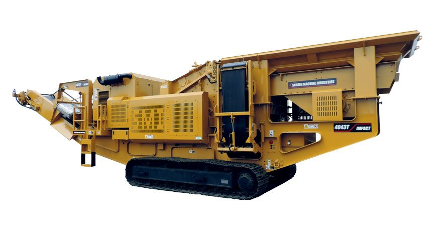 4043T Portable Impact Crusher