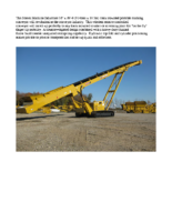 6036T Tracked Conveyor Product Announcement
