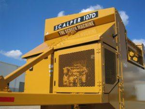 Scalper 107D Engine Compartment