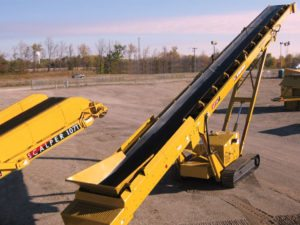 Scalper 107T Additional Stacking Conveyors