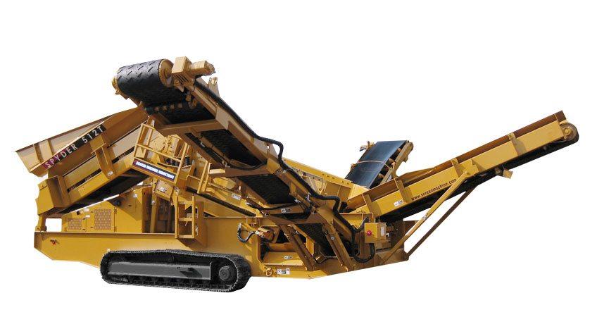 Spyder 512T Planta de Cribado Portátil