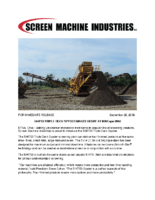 Spyder 514TS3 Triple Deck Screening Plant Product Announcement