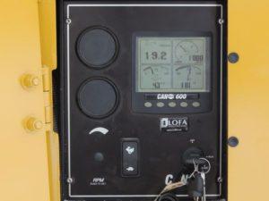 Spyder 622TH Control Panel