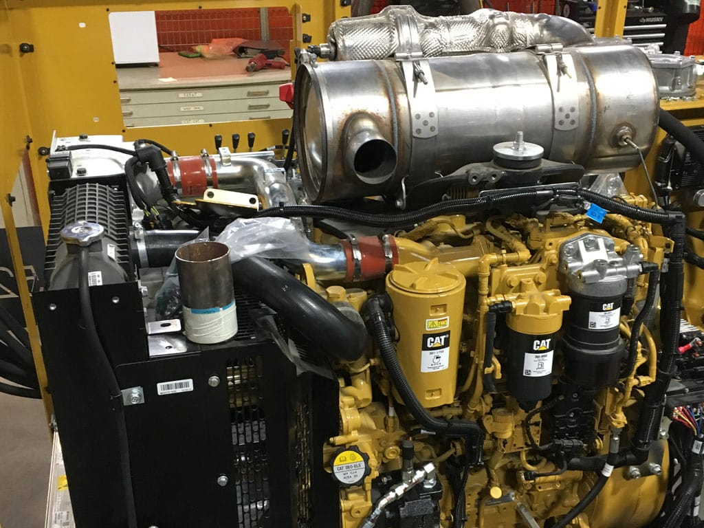 CAT C4.4 Tier IV Final engine